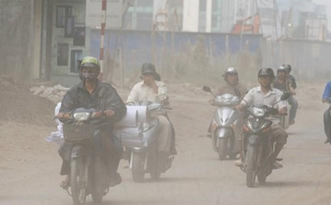 Hà Nội ô nhiễm không khí, người dân nên làm gì khi ra đường?