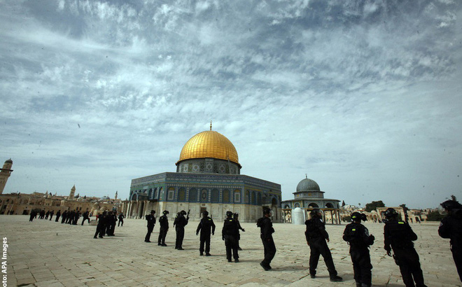 Bức tranh lịch sử Jerusalem về cuộc tranh chấp kéo dài 1000 năm giữa Israel và Palestine