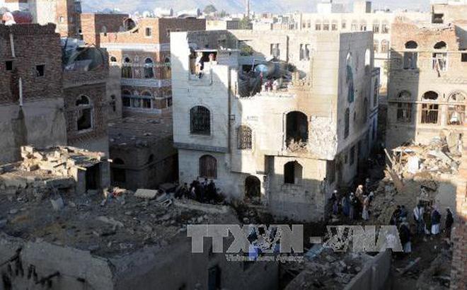Liên quân Arab tăng cường không kích ở Yemen