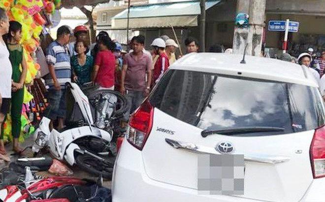 Nghi án người phụ nữ bị bắt cóc lên ô tô cướp tài sản khi đang đi cùng chồng ngay trung tâm Sài Gòn