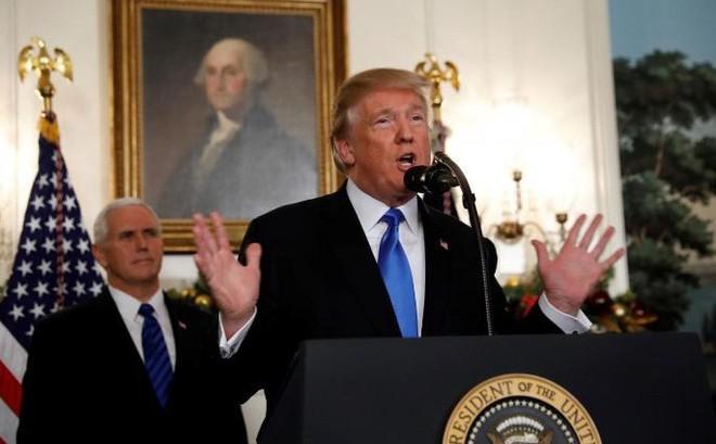 Tổng thống Trump tuyên bố Mỹ công nhận Jerusalem là thủ đô của Israel