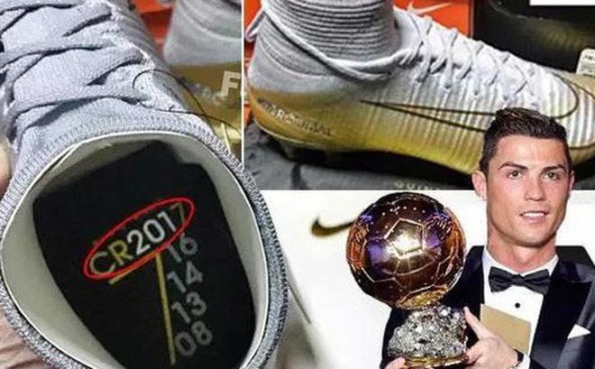 Hình ảnh này khẳng định Ronaldo giành Quả bóng vàng 2017