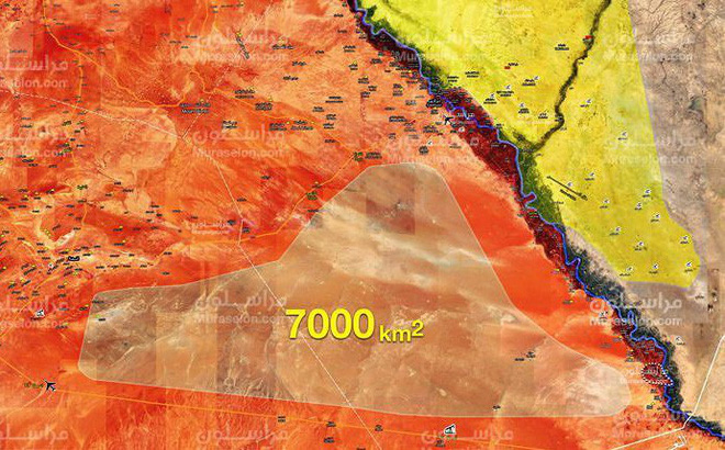 """""""Hổ Syria"""" toàn thắng, kết liễu IS trên bờ tây Euphrates"""