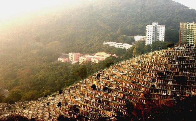 Những nghĩa trang đồ sộ vươn cao như những tòa cao ốc