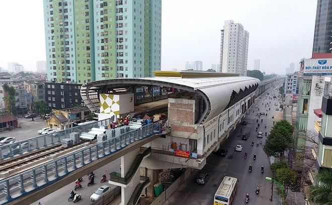 [Tốc độ rùa bò] Đường sắt đô thị tuyến Cát Linh-Hà Đông: Lại lùi tiến độ gần 1 năm??.,