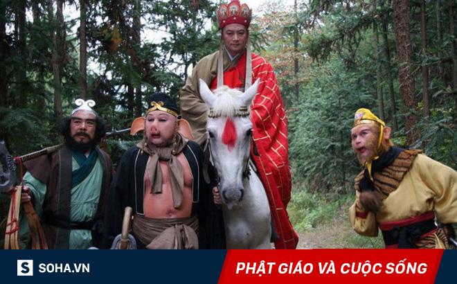Xem Tây Du Ký nhiều song ít ai nhận ra 5 thầy trò Đường Tăng thực ra chỉ là một người