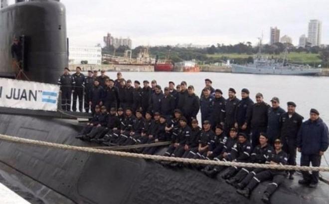 Hé lộ hình ảnh cuối cùng của tàu ngầm Argentina xấu số