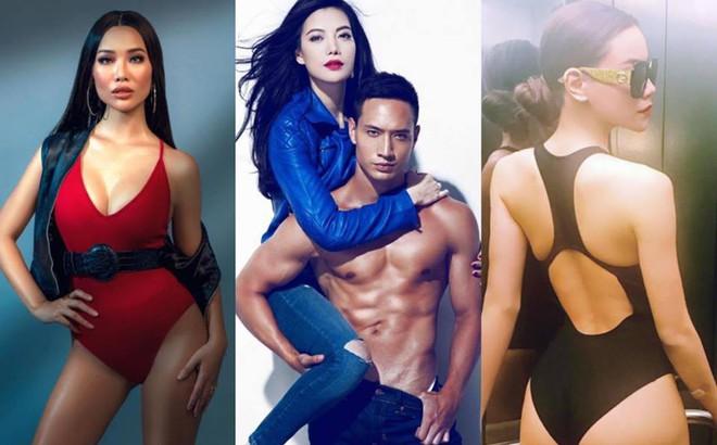 Cận cảnh nhan sắc 3 người tình của Kim Lý: Đều là những mỹ nhân sở hữu thân hình bốc lửanhất nhì showbiz Việt