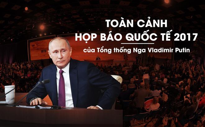 Đối thủ tranh cử đối mặt ông Putin trong họp báo, bị tổng thống Nga chỉ trích đanh thép