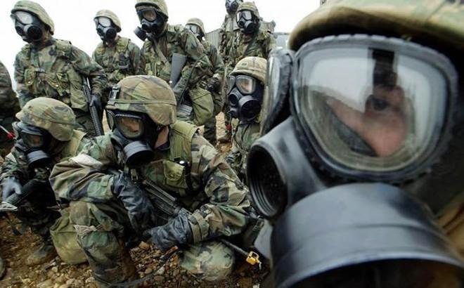 Binh sĩ Mỹ - Hàn diễn tập thâm nhập Triều Tiên, phá hủy vũ khí