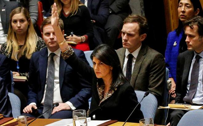 """Đại sứ Mỹ: Mỹ sẽ """"ghi sổ"""" các nước chống tuyên bố của ông Trump về Jerusalem tại Đại hội đồng LHQ"""