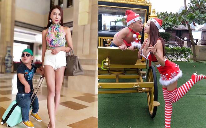 """""""Phan Kim Liên"""" công khai bạn trai ngoài đời: Lùn xấu khó ai dám tưởng tượng"""