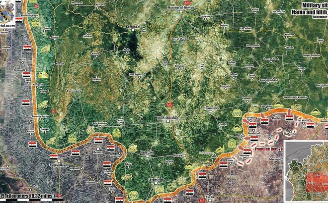 """""""Hổ Syria"""" điều pháo phản lực nhiệt áp TOS-1A Nga đến thiêu hủy phiến quân"""
