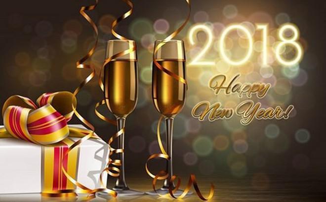 Ảnh đẹp và lời chúc mừng năm mới 2018 hay, ngắn gọn hài hước, ý nghĩa nhất