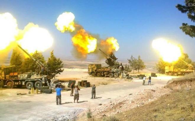 NÓNG: Quân đội Syria bất ngờ mở đợt tấn công chưa từng có - Đập nát khủng bố ở Damascus