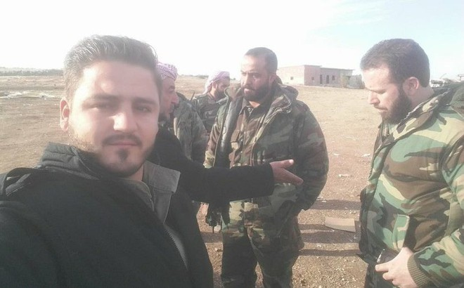 Khoảnh khắc thần chết gọi tên nhóm phóng viên kênh truyền hình Sama TV ở Idlib Syria