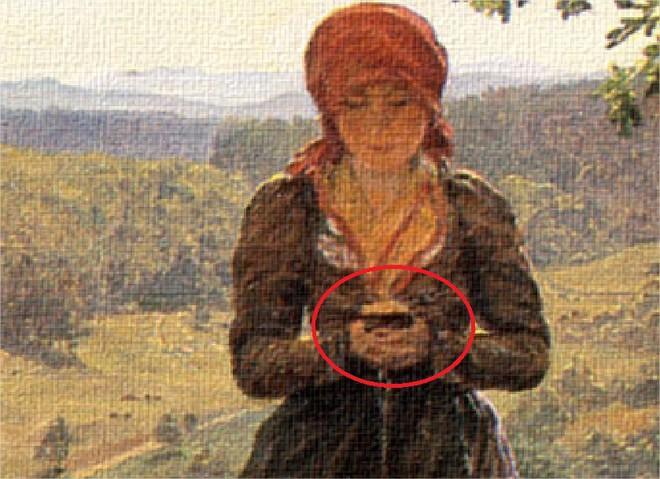 Bức họa xuyên không: Smartphone đã có từ hơn 160 năm trước? - Ảnh 2.