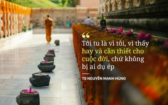 Doanh nhân Nguyễn Mạnh Hùng kể những kết quả tuyệt vời sau 20 năm tu, thiền - Ảnh 1.