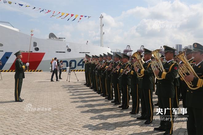 Báo Trung Quốc quan tâm tới chuyến thăm của tàu CSB 8004 Việt Nam - Ảnh 3.