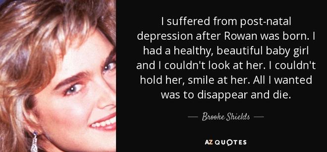 Vụ trầm cảm của mỹ nhân Hollywood khiến vạn bà mẹ rơi lệ: Tôi không muốn chồng con hạnh phúc - Ảnh 2.