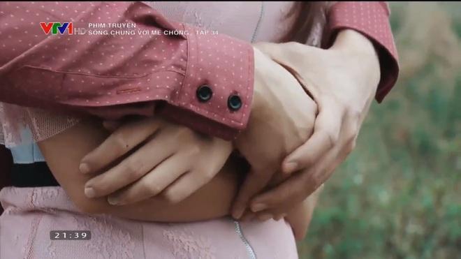 [Video] Tập cuối Sống chung với mẹ chồng: Cảnh hôn say đắm của Việt Anh - Bảo Thanh dài nhất lịch sử phim Việt - Ảnh 5.