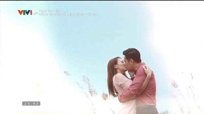 [Video] Tập cuối Sống chung với mẹ chồng: Cảnh hôn say đắm của Việt Anh - Bảo Thanh dài nhất lịch sử phim Việt - Ảnh 9.