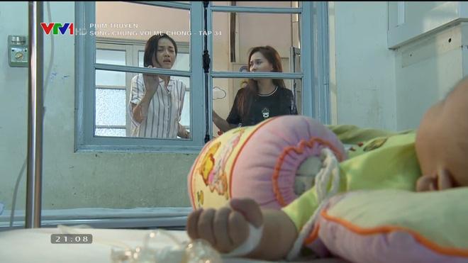 [Video] Tập cuối Sống chung với mẹ chồng: Cảnh hôn say đắm của Việt Anh - Bảo Thanh dài nhất lịch sử phim Việt - Ảnh 12.