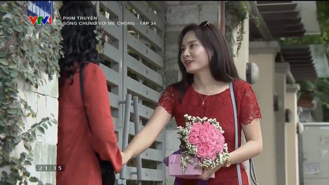 [Video] Tập cuối Sống chung với mẹ chồng: Cảnh hôn say đắm của Việt Anh - Bảo Thanh dài nhất lịch sử phim Việt - Ảnh 17.