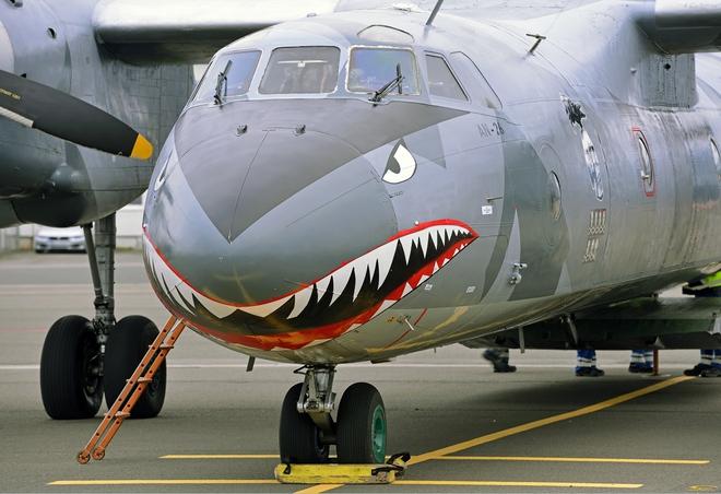 Việt Nam có nên sơn Hàm cá mập cho An-26 như chiếc máy bay này? - Ảnh 4.