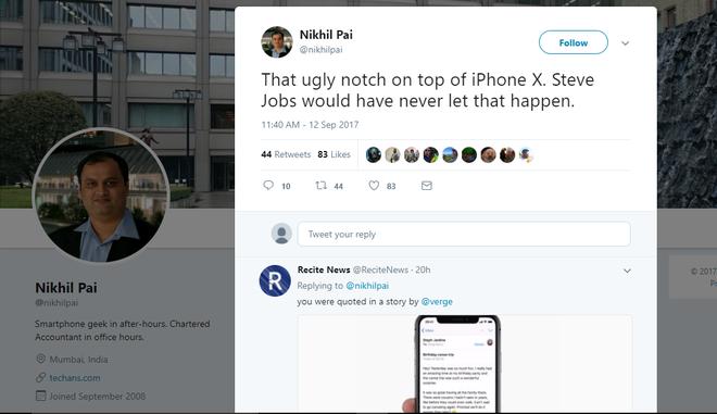 Có lẽ đến cả Steve Jobs cũng không ưa nổi thiết kế màn hình iPhone X - ảnh 1