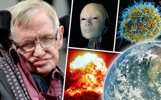 Giáo sư Stephen Hawking đưa ra cảnh báo đáng sợ về mối nguy hiểm khủng khiếp đe dọa sự sống của con người. Ảnh: Express.co.uk