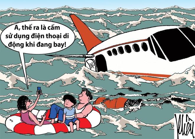HÍ HỌA: Ai bảo đi máy bay là sướng? - Ảnh 1.