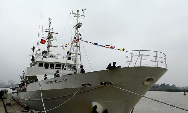 Hình ảnh tàu kiểm ngư hiện đại Nhật Bản vừa trao tặng Việt Nam - Ảnh 5.