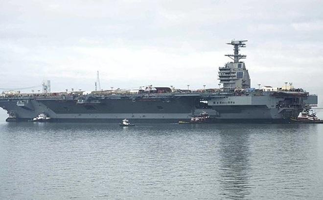 Mỹ chuẩn bị có tàu sân bay có thể trang bị pháo laser hiện đại
