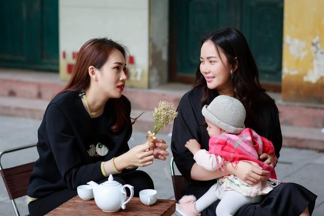 Phan Như Thảo đưa con gái ra Hà Nội thăm bạn thân - siêu mẫu Ngọc Thạch - Ảnh 6.