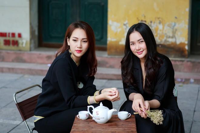 Phan Như Thảo đưa con gái ra Hà Nội thăm bạn thân - siêu mẫu Ngọc Thạch - Ảnh 5.
