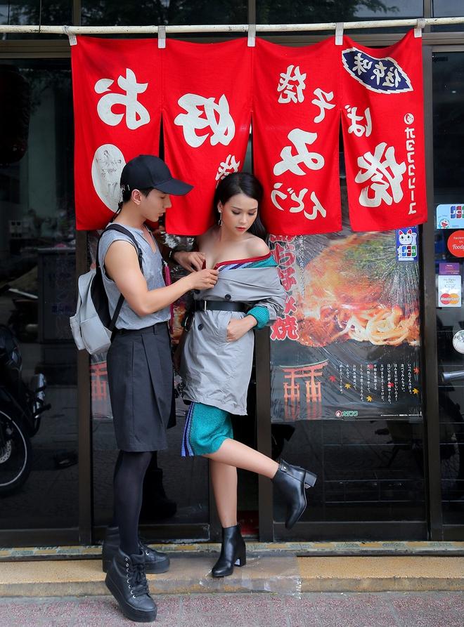 Bỏ ngang công việc của một giảng viên, 9x Gia Lai theo đuổi nghề stylist 3