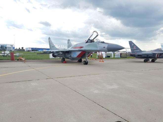 Từ Nga: Cận cảnh dàn vũ khí hùng hậu tại triển lãm MAKS 2017 - Ảnh 10.