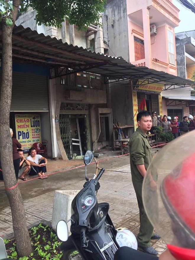 Nổ mìn trước cửa nhà dân ở Thái Nguyên, một phụ nữ tử vong - ảnh 1
