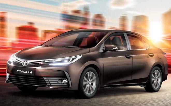 Giá xe ô tô của Toyota đang xuống đáy mùa Tết