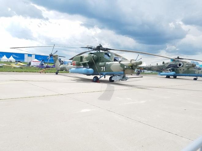 Từ Nga: Cận cảnh dàn vũ khí hùng hậu tại triển lãm MAKS 2017 - Ảnh 20.