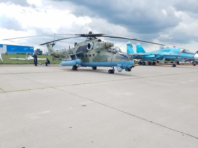 Từ Nga: Cận cảnh dàn vũ khí hùng hậu tại triển lãm MAKS 2017 - Ảnh 21.
