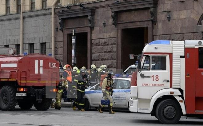 Vụ nổ ở St. Petersburg là do một quả bom chứa đầy kim loại gây ra