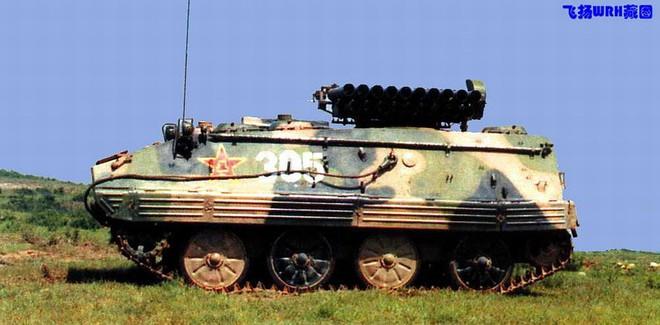 Phương án chế tạo pháo phản lực phóng loạt tự hành từ xe thiết giáp K-63 lưu kho - Ảnh 3.