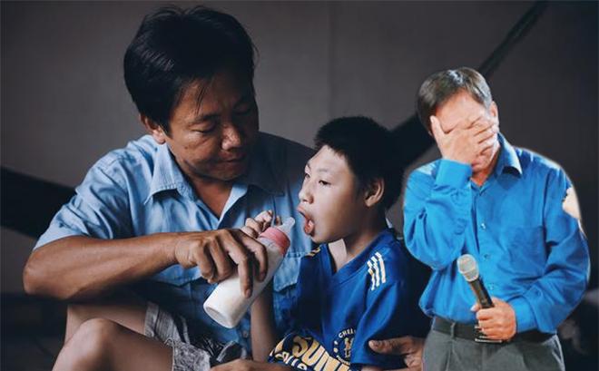 Dù nói dối, ông bố của hai con teo não vẫn có quyền rơi nước mắt