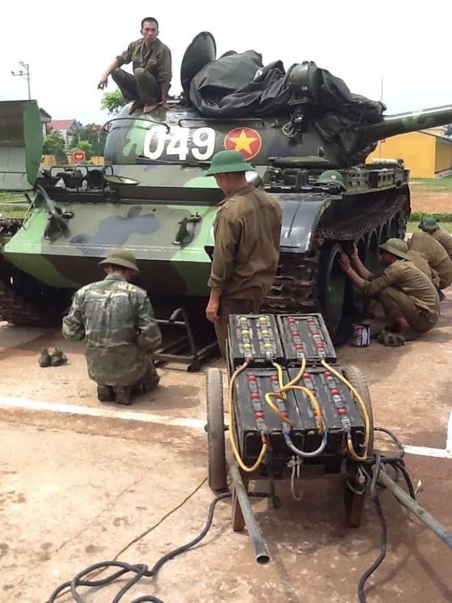 Thăm lại những con chiến mã thân thương và mái nhà chung ấm áp - Lữ đoàn xe tăng 203 - Ảnh 4.