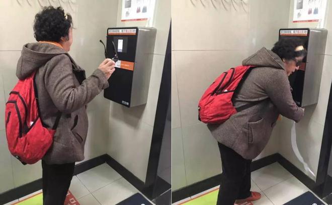 Công viên ở Bắc Kinh lắp thiết bị đặc biệt để ngăn người dân biển thủ giấy vệ sinh