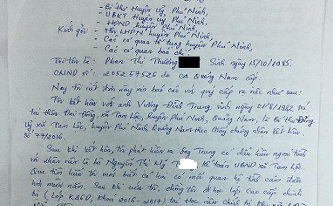 """Nữ cán bộ bị tố vào khách sạn với Bí thư xã: 20 năm công tác, """"dại gì đánh đổi cuộc đời"""""""
