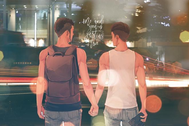 Chuyện tình vượt biên giới của 2 chàng trai: 10 tháng yêu nhau và 27 thành phố - Ảnh 5.