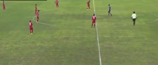 Diễn biến chi tiết U22 Việt Nam 6-1 Busan FC: Đoàn quân áo đỏ toàn thắng trên đất Hàn Quốc - Ảnh 3.